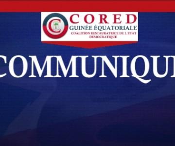 communique CORED