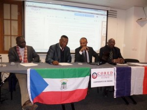 Conference de presse cored can 2015