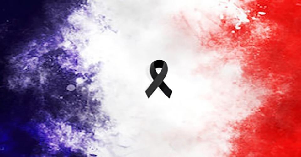 condoleance aux peuple fraçais