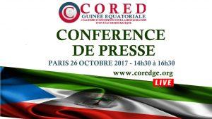conference de presse CORED2