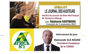 le journal des auditeur africa n 1 Raimundo Ela Nsang