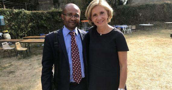 Raimundo Ela Nsang et Valerie Pecresse